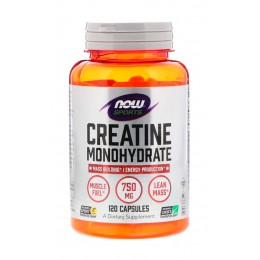 NOW. Creatine Monohydrate - 120 капс