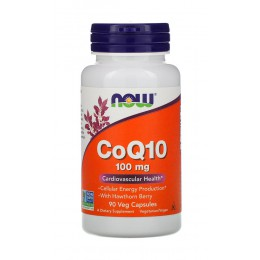 NOW. CoQ10 - 100 мг - 90 капс