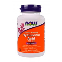 NOW. Hyaluronic Acid 100 мг - 120 капс