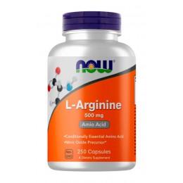 NOW. L-Arginine 500 мг - 250 капс