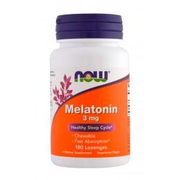 NOW. Melatonin 3 мг - 180 таб