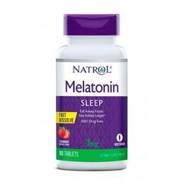 Natrol. Melatonin 3 мг - 90 таб