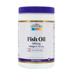 21st Century. Fish Oil - 300 капс