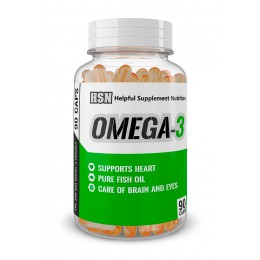 HSN. Omega 3 - 1000 мг - 90 капс