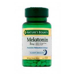 Natures Bounty. Melatonin 5 мг - 90 капс
