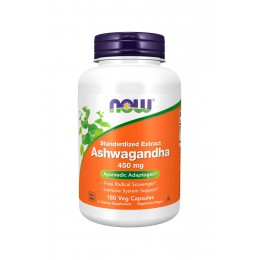 NOW. Ashwagandha Extract 450 мг - 180 капс