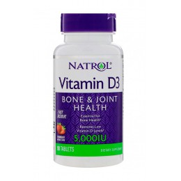 Natrol. Vitamin D3/5,000 МЕ- 90 таб