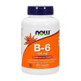 NOW. B-6 100 мг - 250 капс