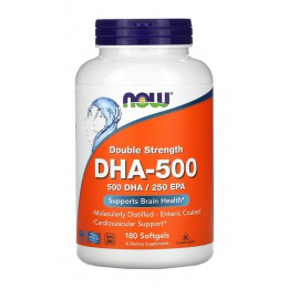 NOW. DHA-500 - 180 капс