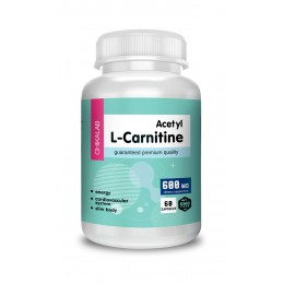 Chikalab. Acetyl L-Carnitine 500 мг - 60 капс
