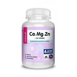 Chikalab. Ca+Mg+Zn - 60 таб