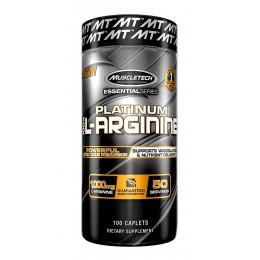 MuscleTech. Platinum L-Arginine - 100 таб