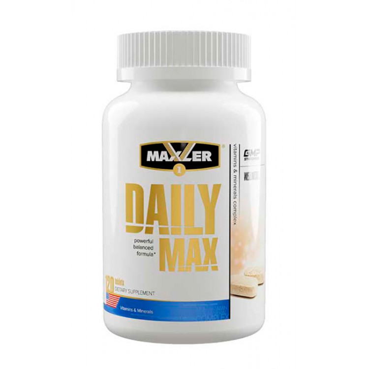 Maxler. Daily Max - 120 таб