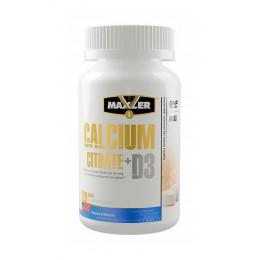 Maxler. Calcium Citrate + D3 - 120 таб