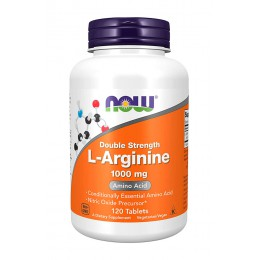 NOW. L-Arginine 1000 мг - 120 таб