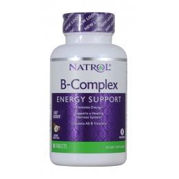Natrol. B-Complex Coconut - 90 таб