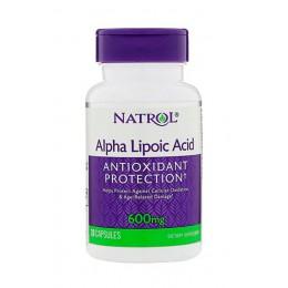 Natrol. Alpha Lipoic Acid 600 мг - 35 капс