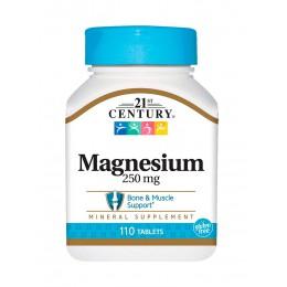 21st Century. Magnesium 250 мг - 110 таб