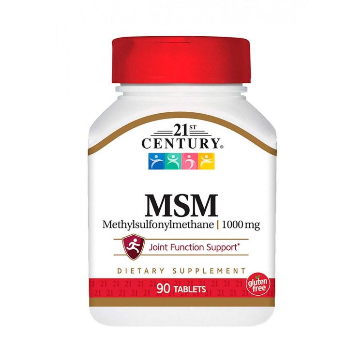 21st Century. MSM 1000 мг - 90 таб