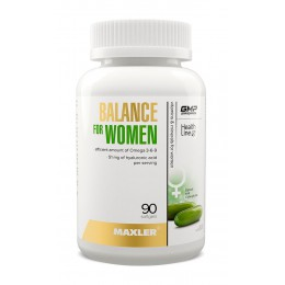 Maxler. Balance for Women - 90 капс
