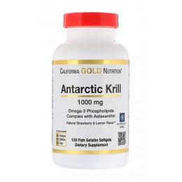 CaliforniaGold. Antarctic Krill - 120 капс