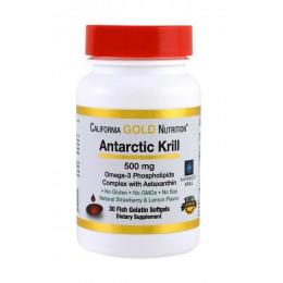 CaliforniaGold. Antarctic Krill - 30 капс