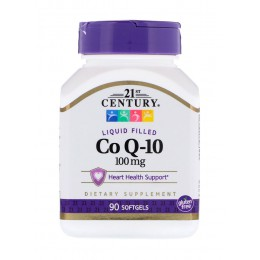 21st Century. CoQ10 100 мг - 90 капс