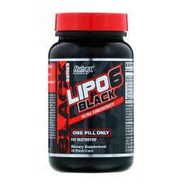 Nutrex. Lipo-6 BLACK Ultra Con - 30 капс