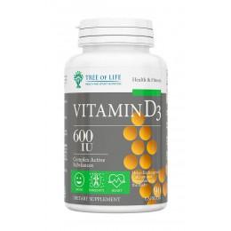 Tree of Life. Vitamin D - 90 капс