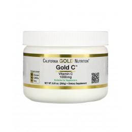 CaliforniaGold. Gold Vitamin C 1000 мг - 250 г