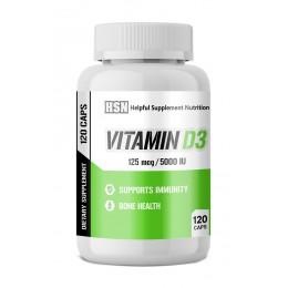 HSN. Vitamin D3 - 120 капс