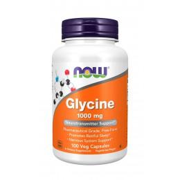 NOW. Glycine 1000 мг - 100 капс