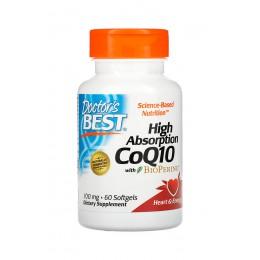 Doctor's Best. CoQ10 - 100 мг - 60 капс