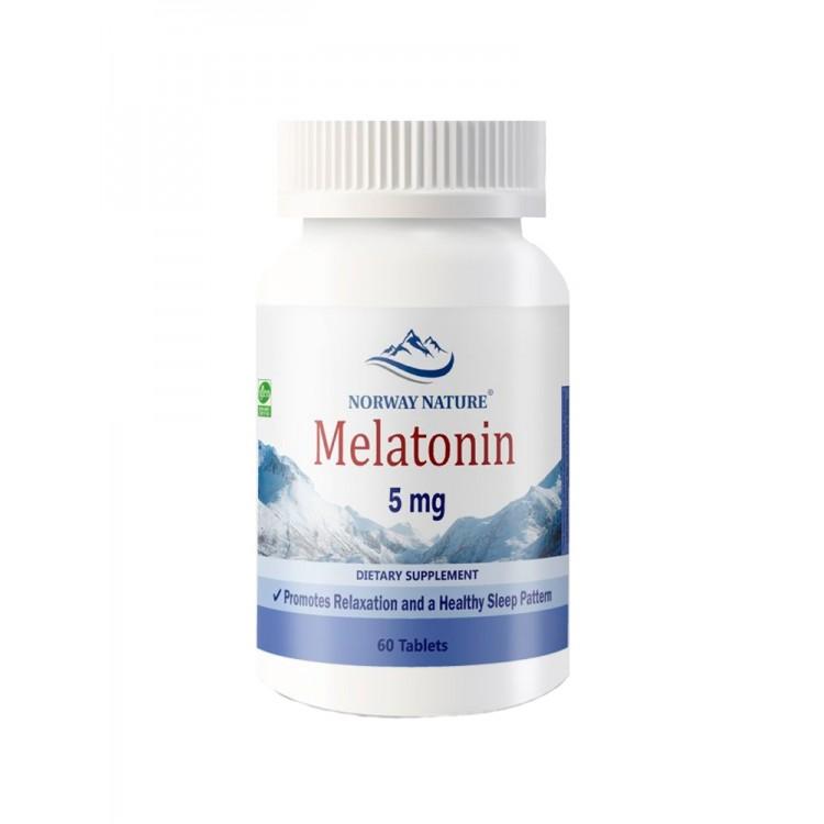 Norway Nature. Melatonin 5 мг - 60 таб