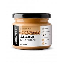 DopDrops. Паста арахисовая без добавок - 250 г