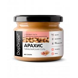 DopDrops. Паста арахисовая КРАНЧ с гималайской солью - 250 г