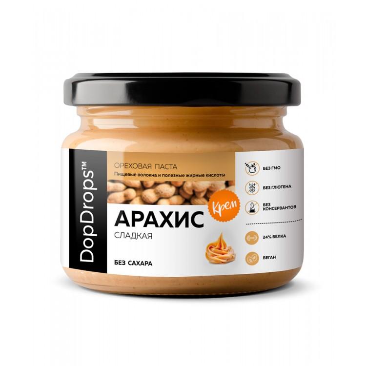 DopDrops. Паста арахисовая сладкая - 250 г