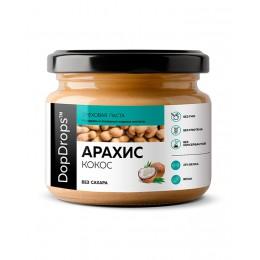 DopDrops. Паста арахисовая с кокосом - 250 г