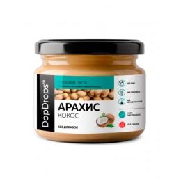 DopDrops. Паста арахисовая с кокосом без добавок - 250 г