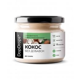 DopDrops. Паста кокосовая без добавок - 250 г