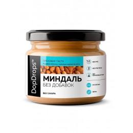 DopDrops. Паста миндальная без добавок - 250 г