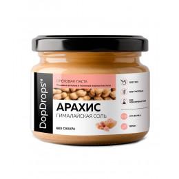 DopDrops. Паста арахисовая с гималайской солью - 250 г
