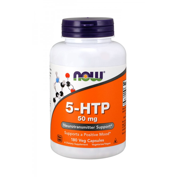 NOW. 5-HTP 50 мг - 180 капс