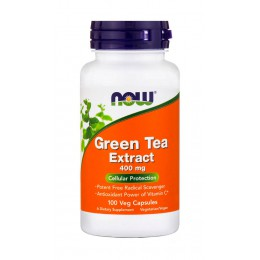 NOW. Green tea extract - 100 капс