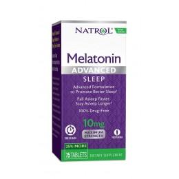 Natrol. Melatonin 10 мг - 75 таб