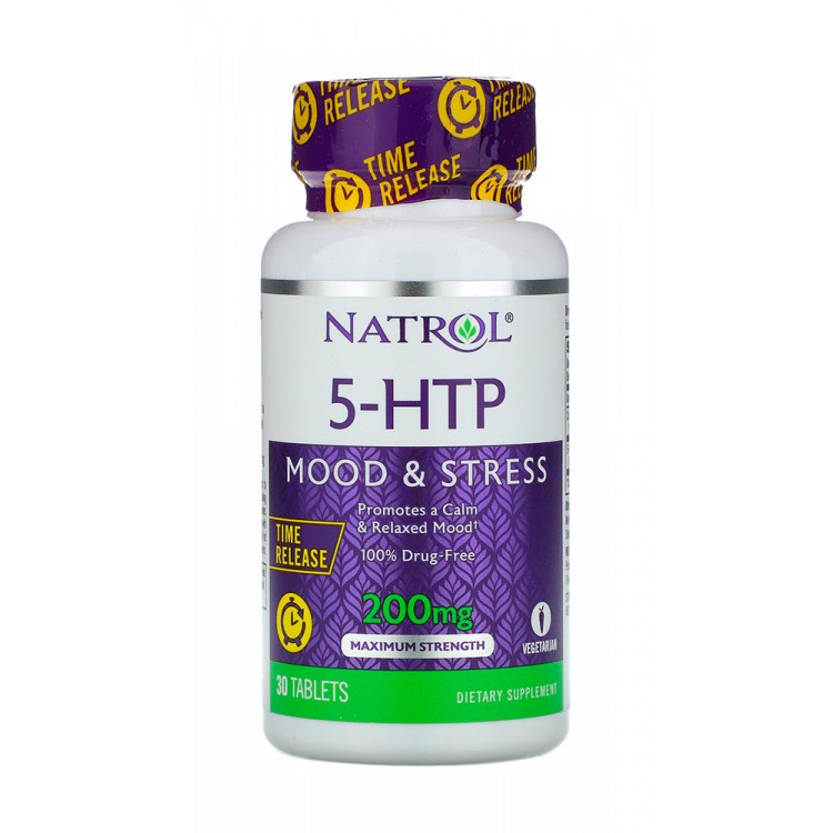 Natrol. 5-HTP 200 мг - 30 таб