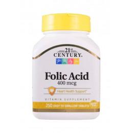 21st Century. Folic Acid 400 мкг - 250 таб