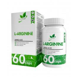 NaturalSupp. Arginine - 60 капс