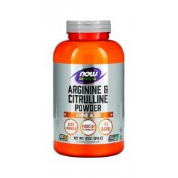 NOW. Arginine & Citrulline - 340 г