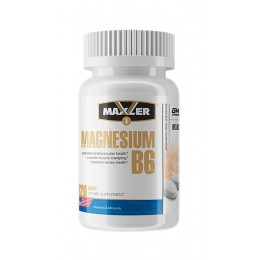 Maxler. Magnesium B6 - 60 таб